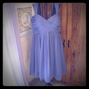 Flirty, Pretty Ruched Grey Prom Special occasion